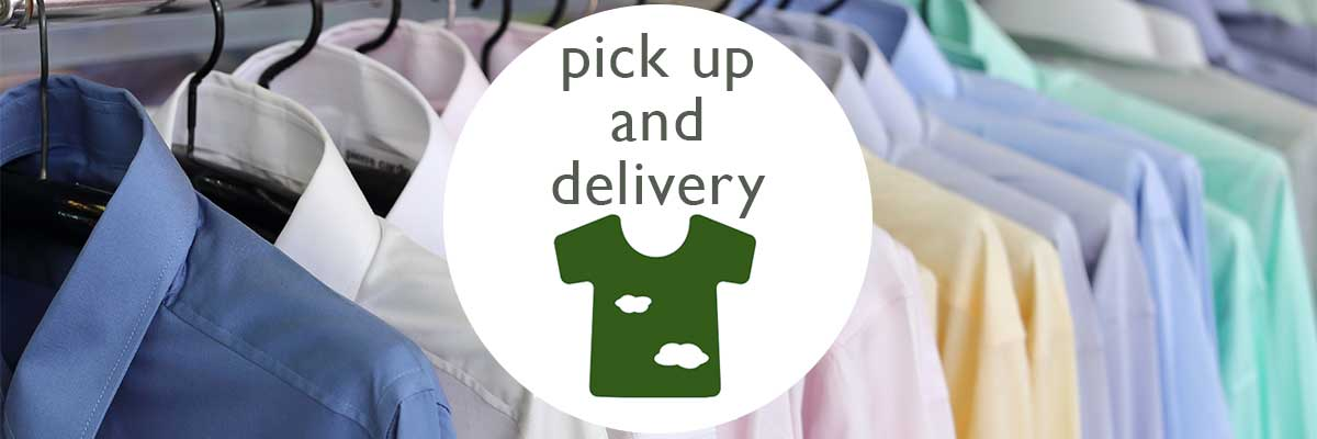 collection from - Wash and Sew - environmentally friendly dry cleaners Oxford